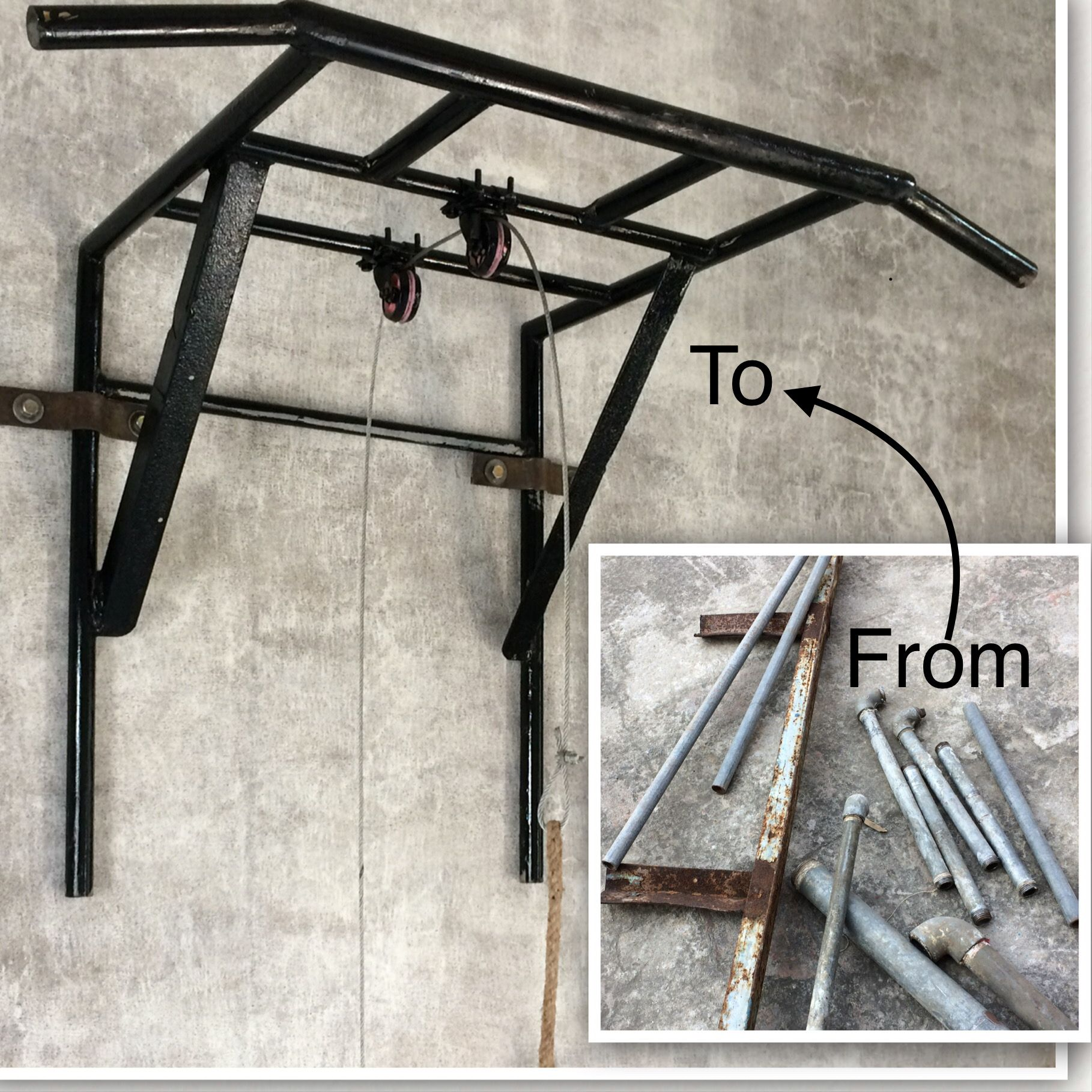 Best Gym Equipment For Workout At Home Made From Recycled Materials Diy Home Gym Home Made Gym Homemade Gym Equipment