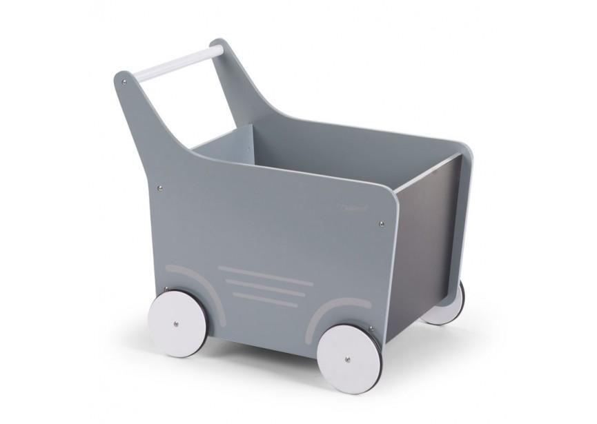 Wooden Stroller Toy Cart Mint Children Toys Babyprestigeuk