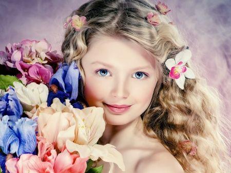 Spring Princess Desktop Nexus Wallpapers Curly Girl Hairstyles Portrait Girl Beauty Girl