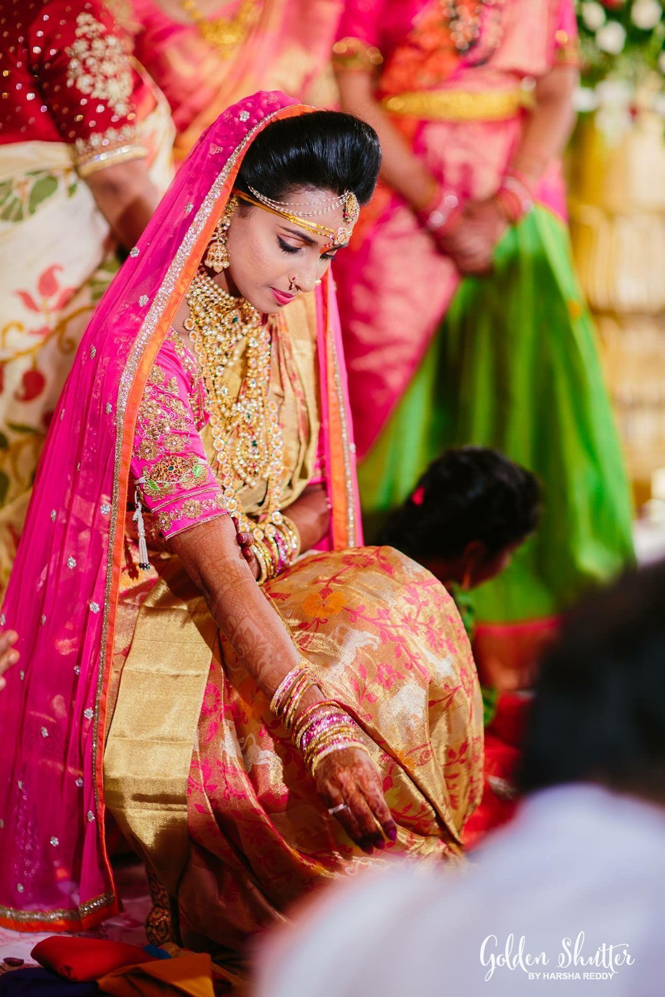 Engagement pattu saree images pin by spandana reddy sappidi on southindian bride  pinterest