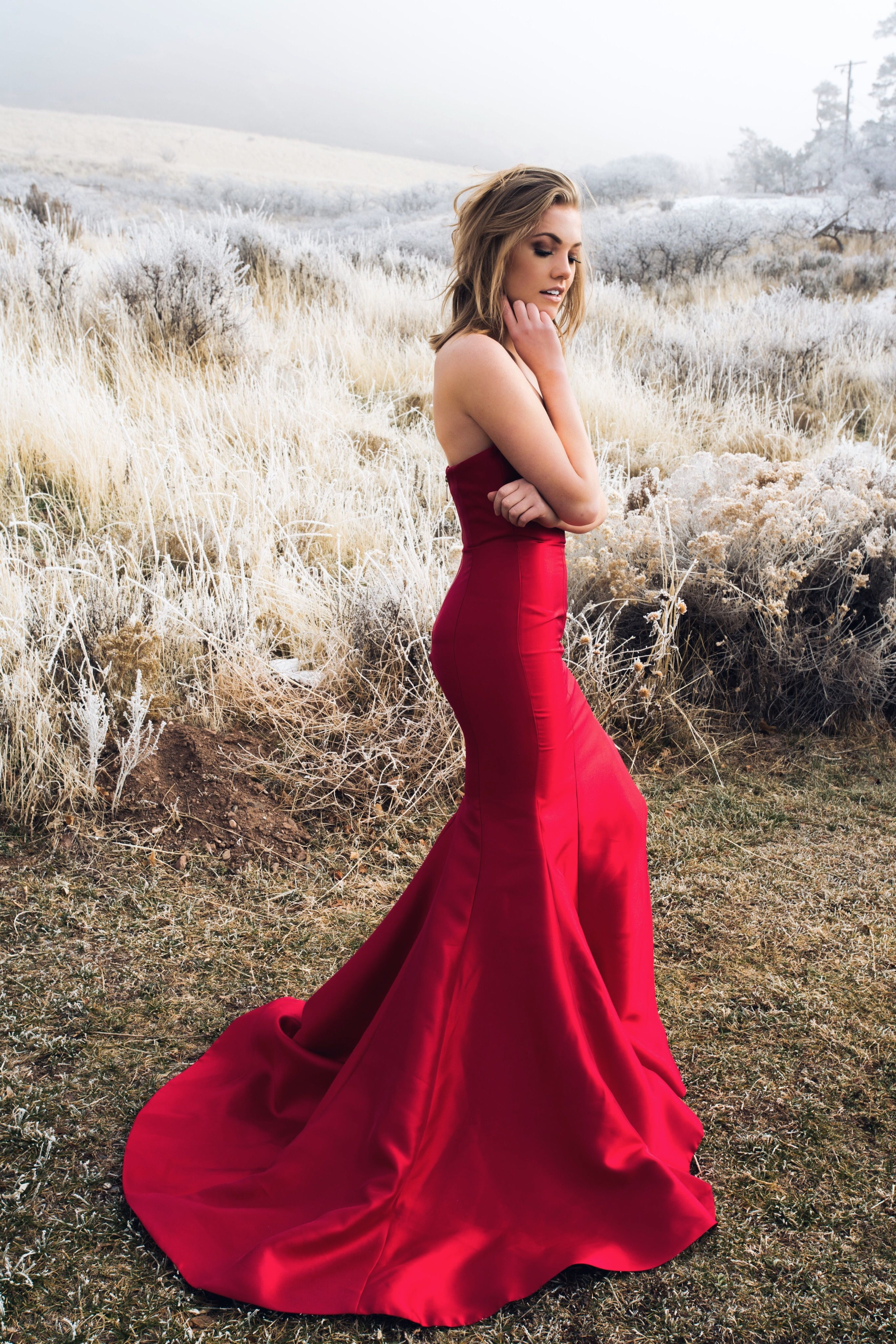 c446a5d5d14a1 Sherri Hill Spring 2018 red dress prom pageant | playing dress up ...