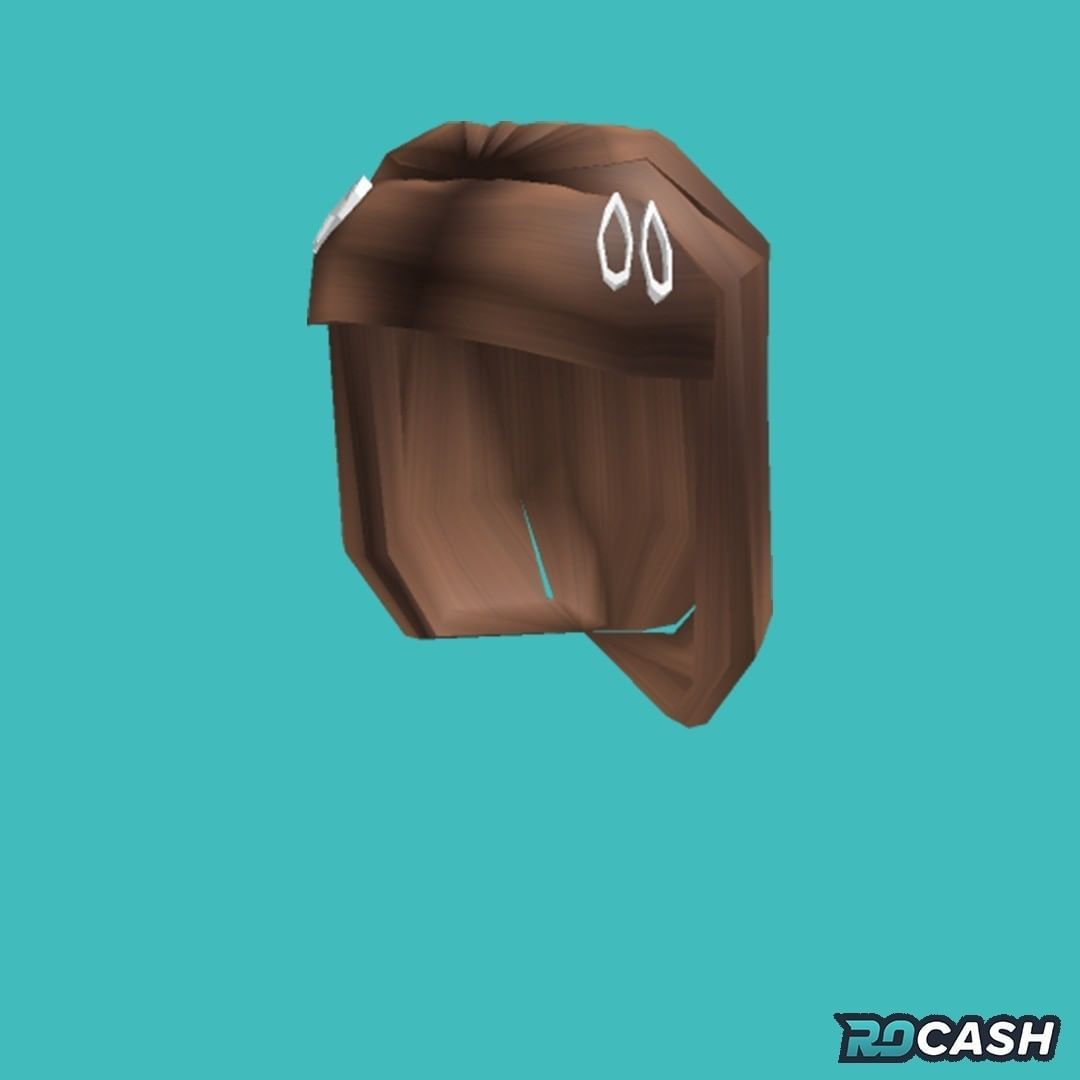 Want To Get The Hair Aesthetic Clips Light Brown For Free You Can Earn Robux On Rocash And Withdraw Directly To Your Roblox A In 2020 Clip Lights Roblox Aesthetic