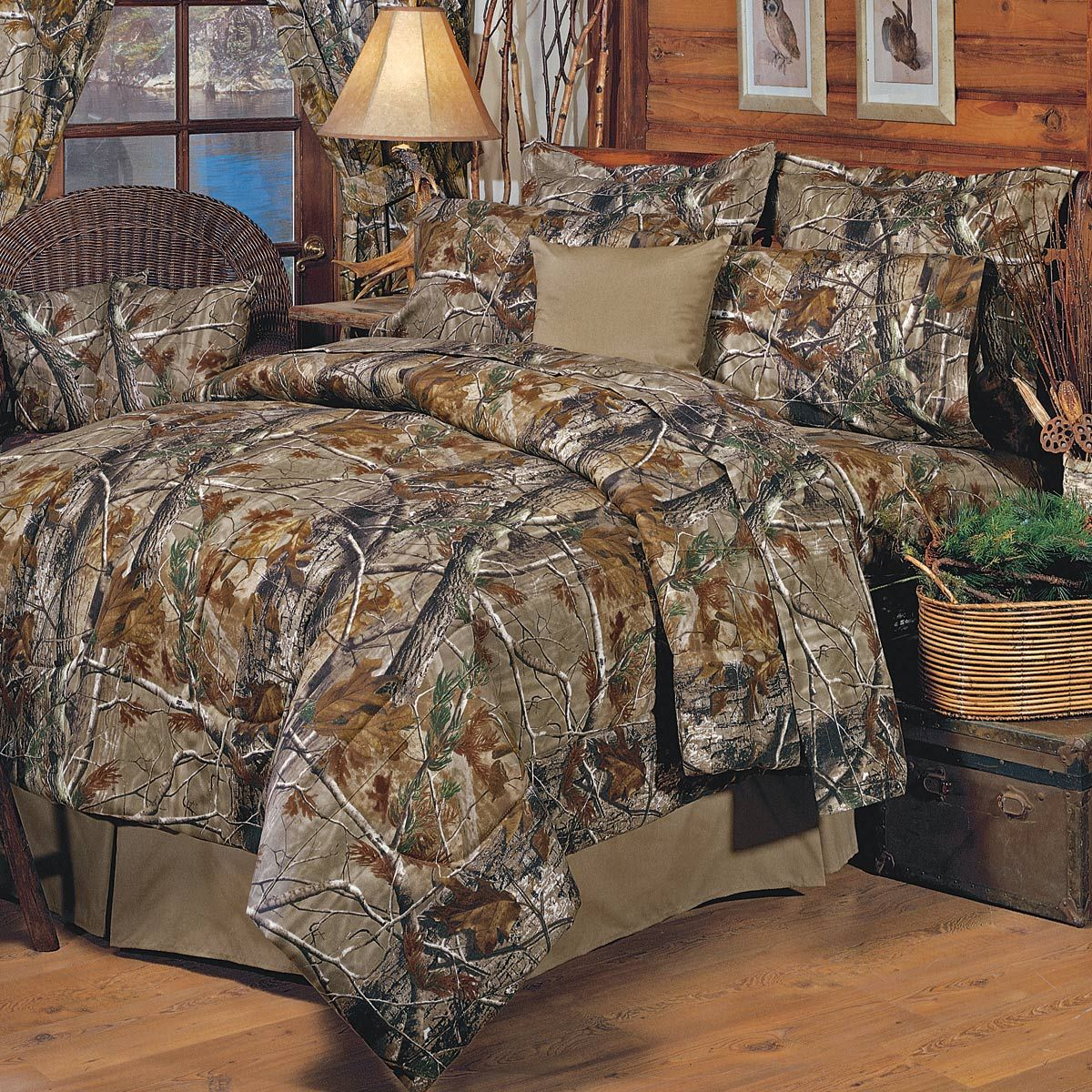 Realtree All Purpose Camo Comforter Set Full With Images