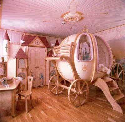Elegant Kleinkinderzimmer Ideen Mädchen Prinzessing Schlafzimmer Bett