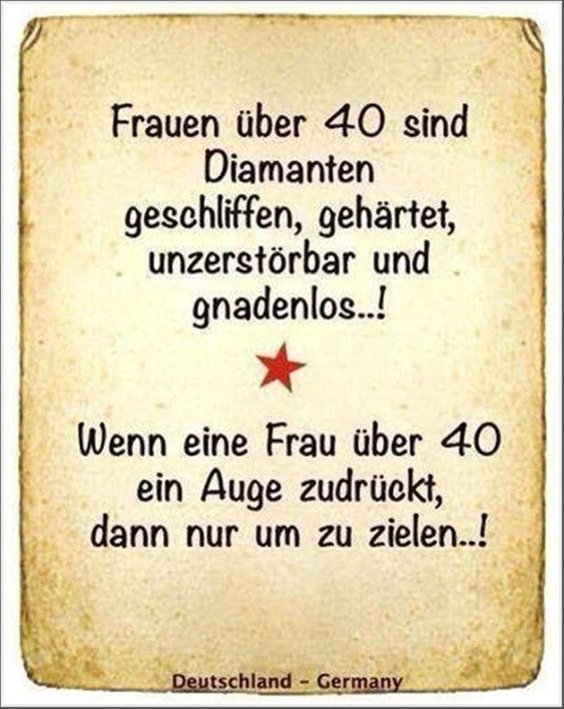 Geburtstag 40 lustig frau Lustige Geburtstagssprüche