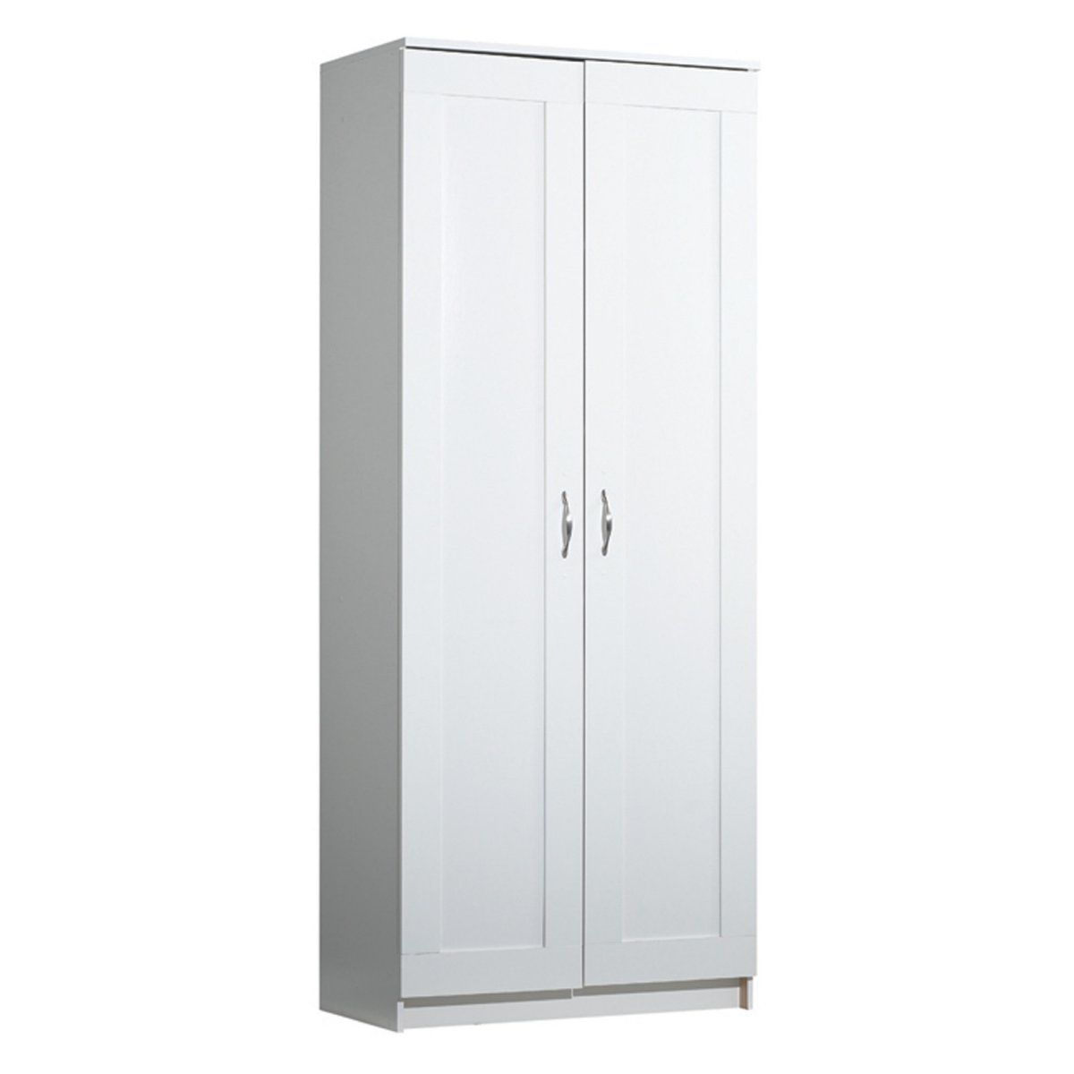 Akadahome 2 Door Kitchen Storage Cabinet White Kitchen Cabinet Storage Dining Storage Metal Storage Cabinets