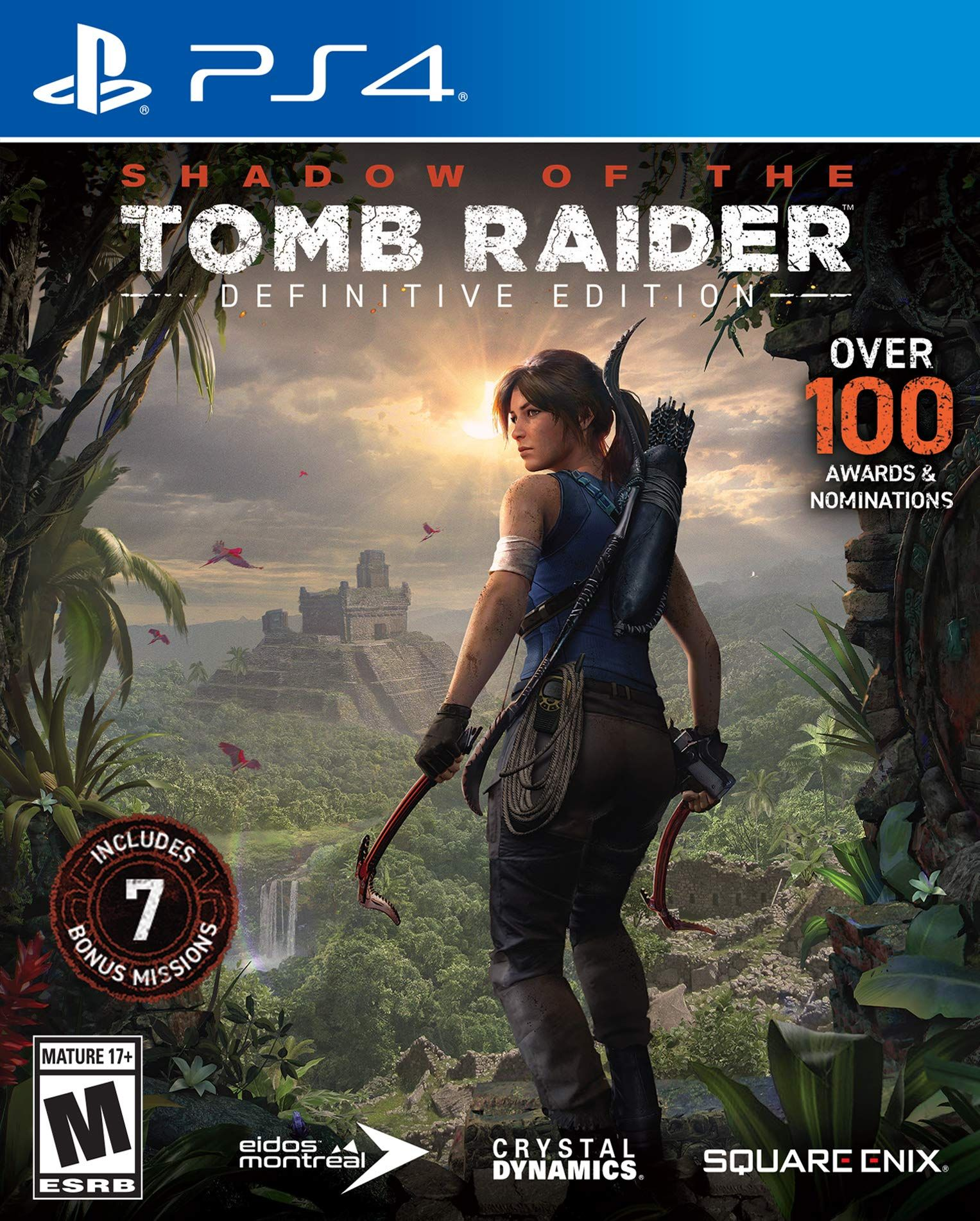 Shadow Of The Tomb Raider Definitive Edition Tomb Raider Tomb