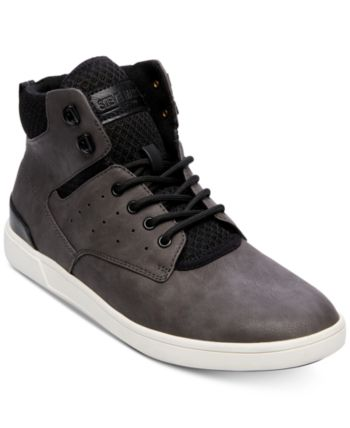 e9a44018abc Steve Madden Men Fridged High-Top Sneakers Men Shoes in 2019 ...