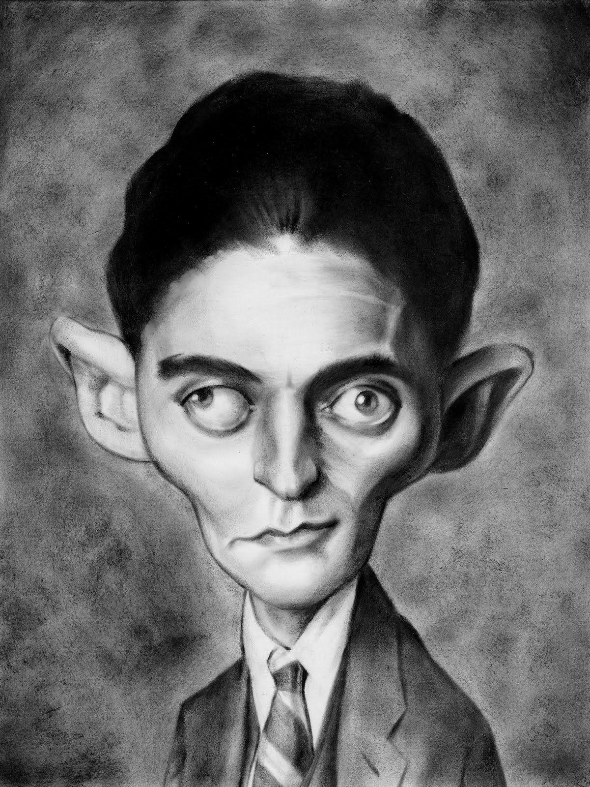 Franz Kafka Caricature | Art, Artwork, Portrait art