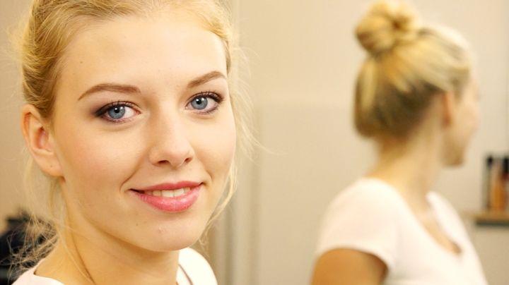 Make up step by step schlupflider schminken beauty - Schlupflieder schminken ...