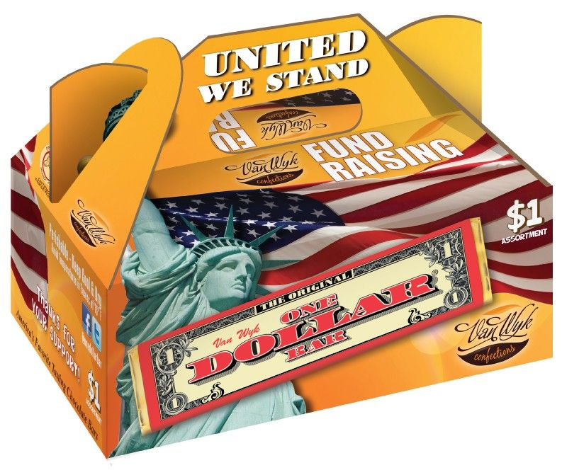 1 United We Stand Variety Pack Candy Fundraiser Fundraising Fundraiser Food