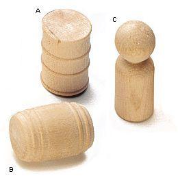 Wooden Drum Wooden Pegs Lee Valley Tools Peg Dolls