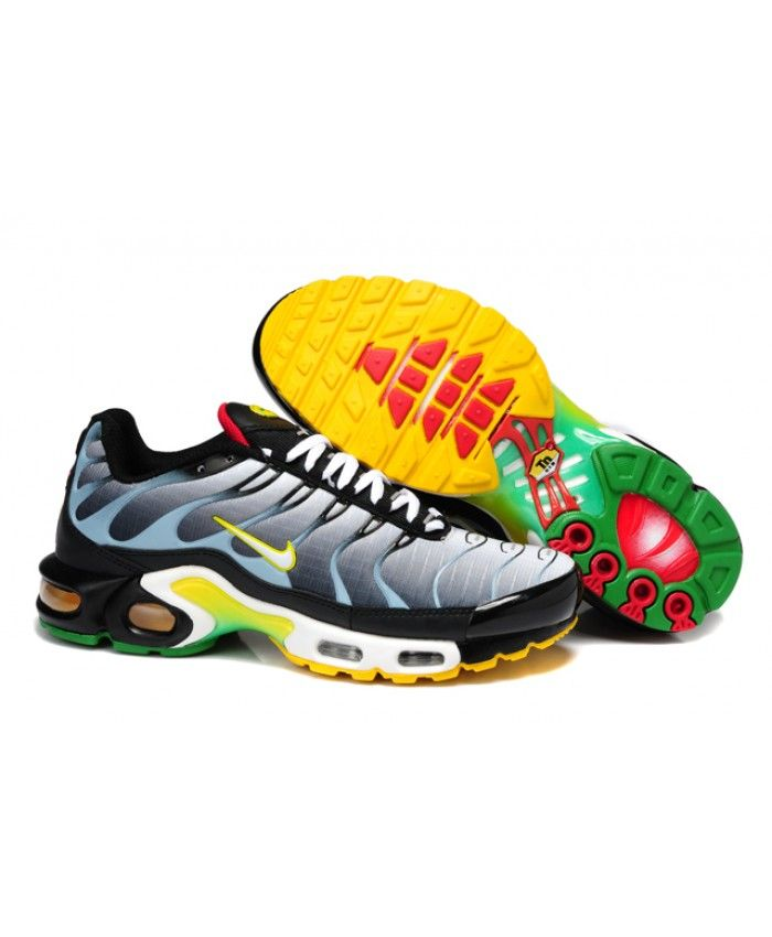 057db3175f 2016 Nike Air Max TN Mens Black Grey Yellow Sale | nike air max tn ...
