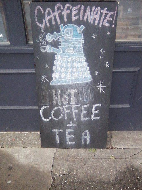 Caffeinate.