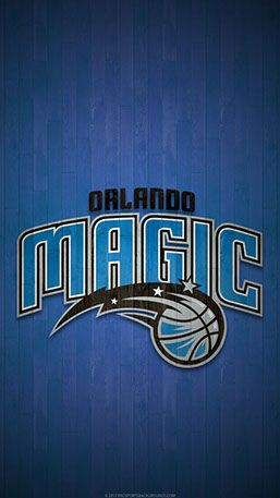 Orlando Magic Mobile Hardwood Logo Wallpaper V1 Orlando