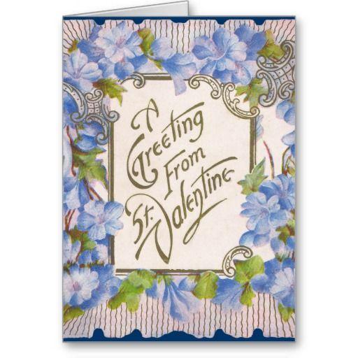 victorian friend's valentine's day card  zazzle