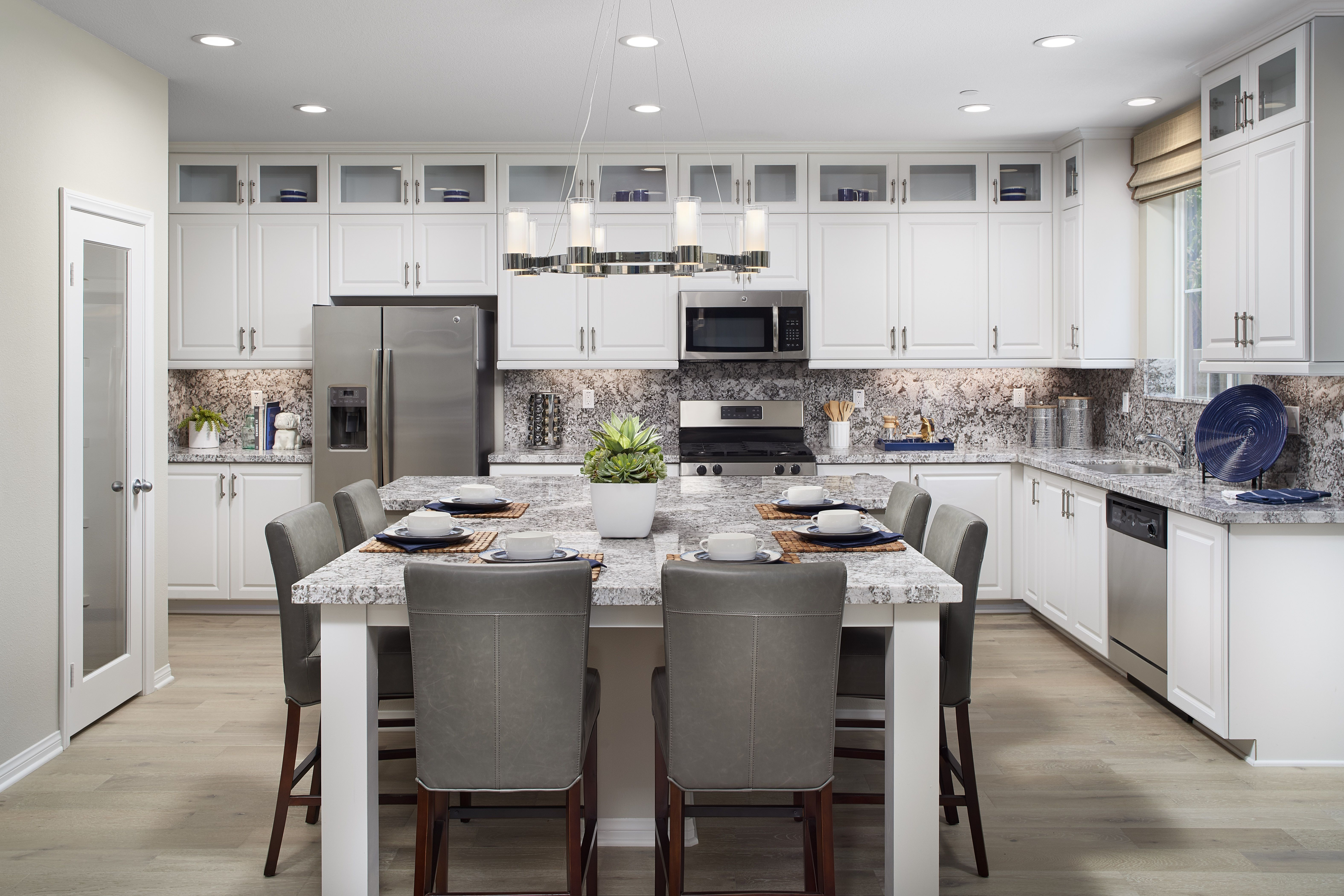 Counter Height Built In Dining Table We Say Yes You Kitchen Island With Stove Kitchen Decor Furniture