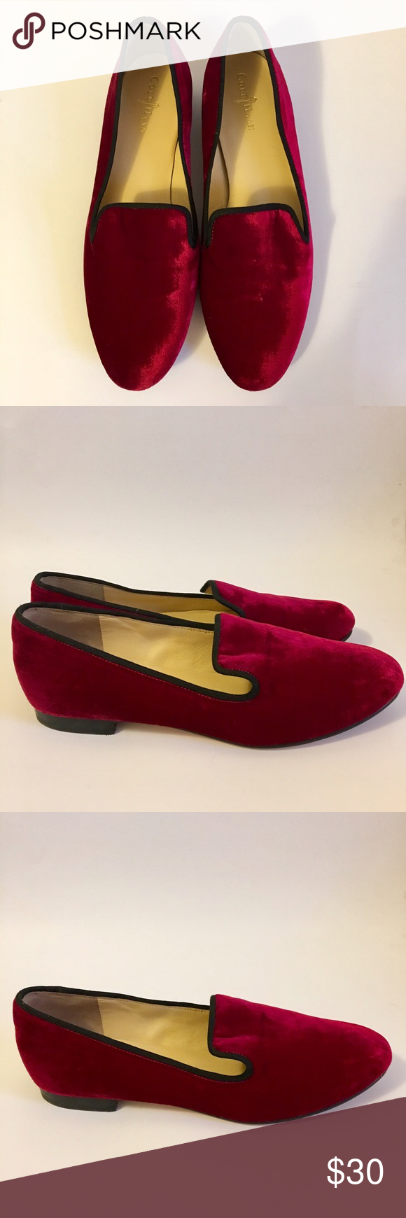 Cole Haan Sabrina Velvet Loafers