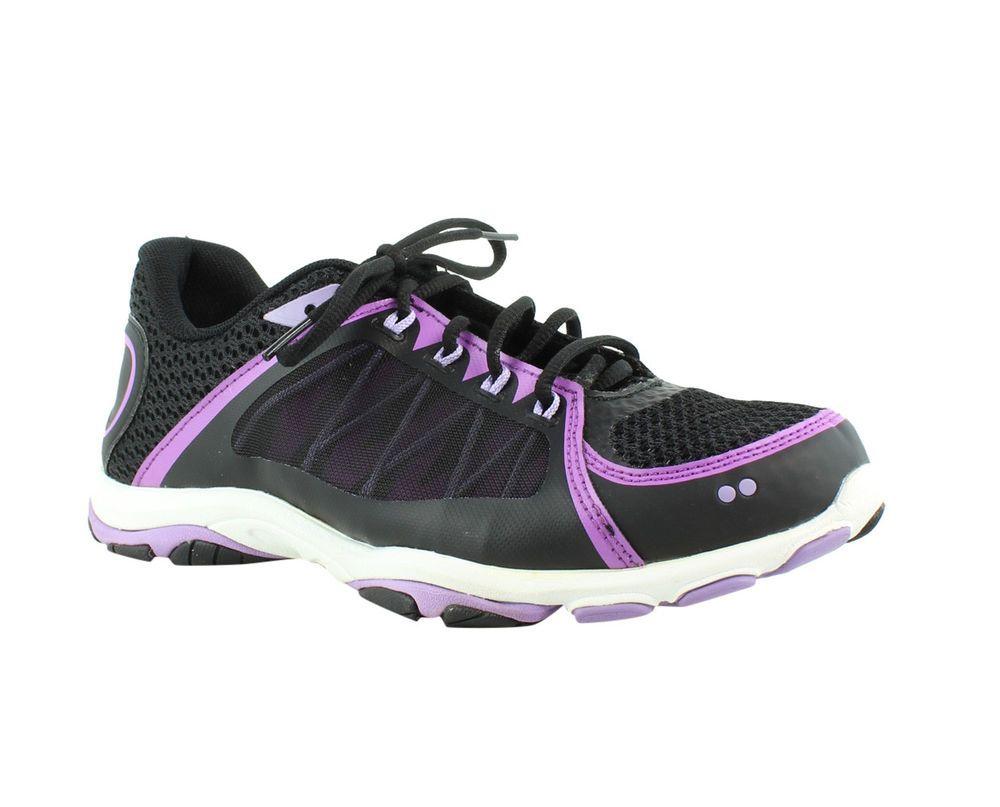 734ce65247f01 Ryka Womens Influence 2.5 Black Purple Running Shoes Size 10.5 (215840)