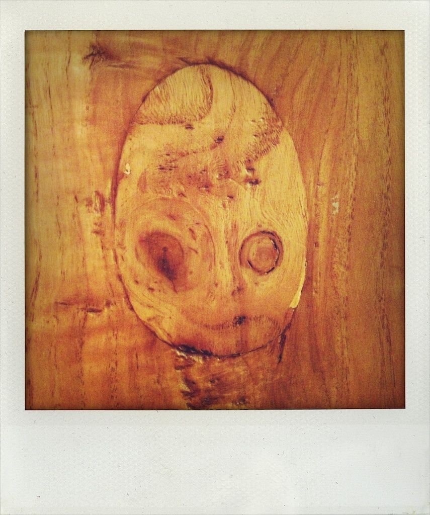 Wood Face - In a friend's house