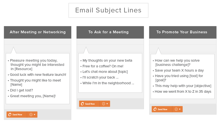 Need to send a follow up email after a meeting or conference? Here ...