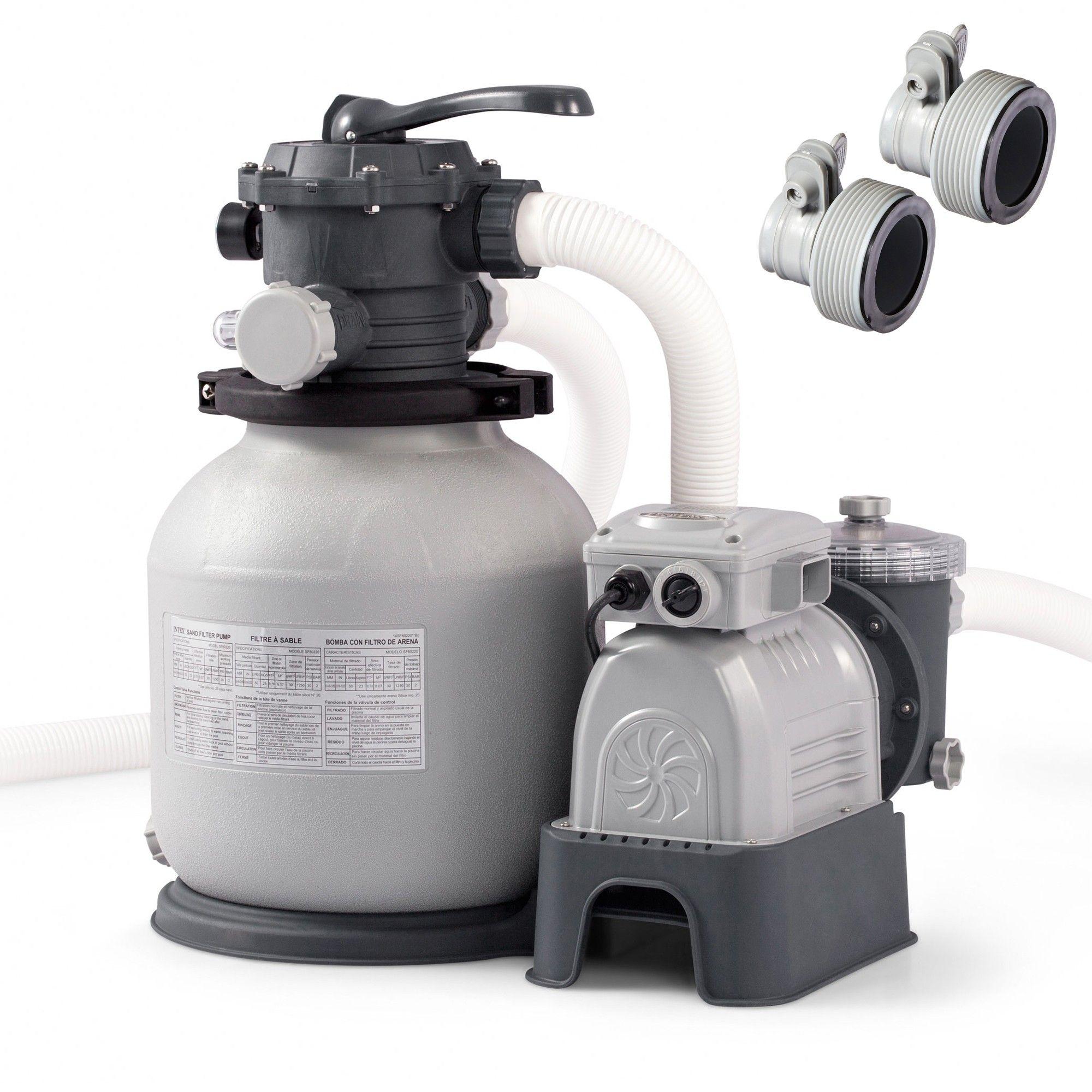 Intex Replacement Hose Adapter B Pair Sand Filter Above Ground Pool Pump Above Ground Pool Pumps Pool Pump Above Ground Pool