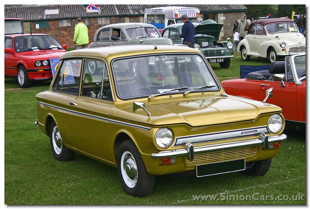 Hillman Super Imp, Introduced 1965