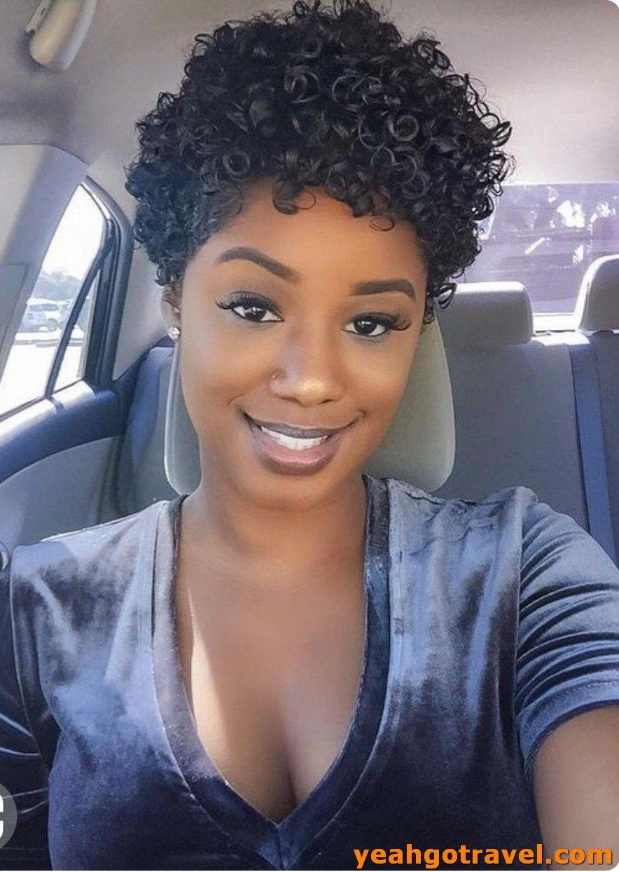 36 Short Curly Hair Ideas 2019 Curly Human Hair Wig Short Curly