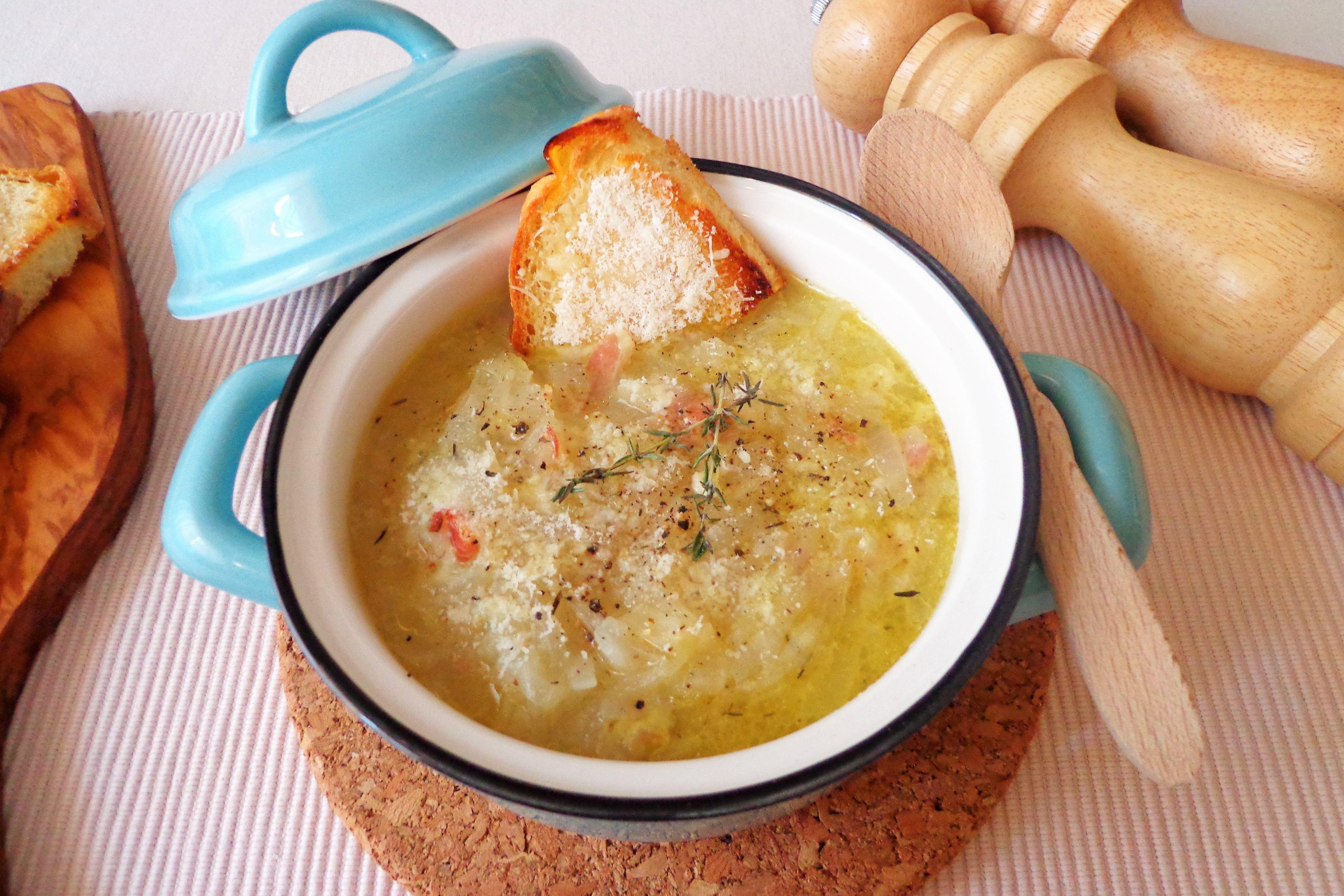 ricetta la zuppa di cipolle per perdere peso