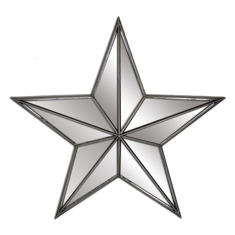 Belle Maison Mirrored Star Wall Decor Products