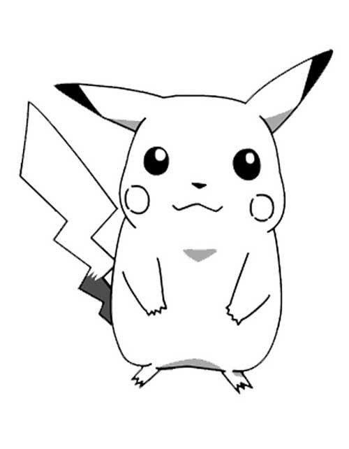 33 Desenhos Do Pokemon Para Colorir Pintar Pokemon Desenho