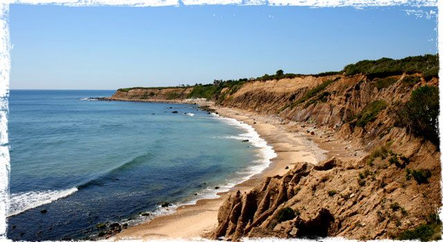 Ditch Plains Beach Montauk Long Island Usa