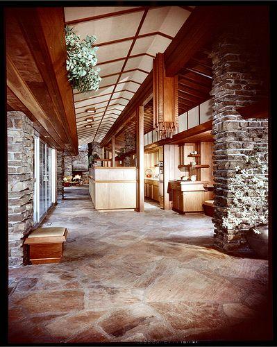 Walton Residence Bentonville Arkansas Built 1958 Architecture Architecture House Usonian House