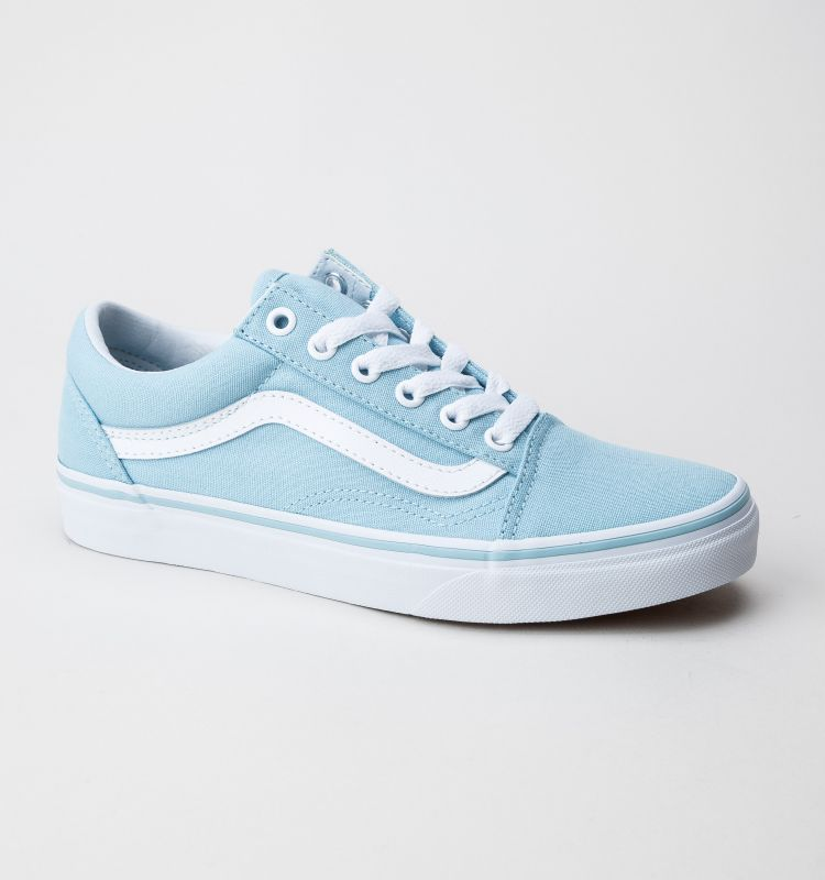 Vans Old Skool Vn0a38g1mqw Trainers Crystal Blue True White Vans Shoes Fashion Cute Sneakers Blue Shoes