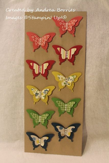 splitcoaststampers butterfly stamp cards | Supplies (all Stampin' Up! ® ) :