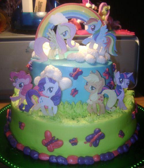 Pin by Karen Craig on MLP Birthday Party Pinterest Pony cake