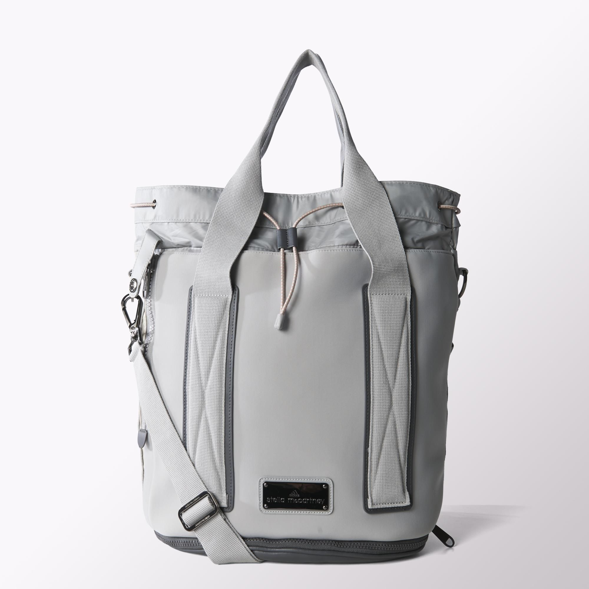 This Expandable Adidas By Stella McCartney Tennis Bag Totes All Your Gear Including