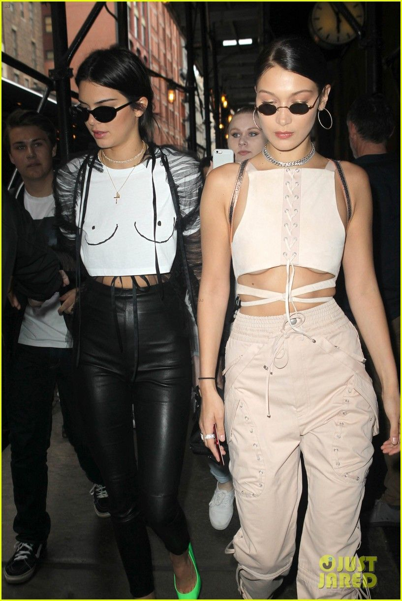 4a771ee3c71 Kendall   Kylie Jenner   Bella Hadid Attend Travis Scott Birthday Party