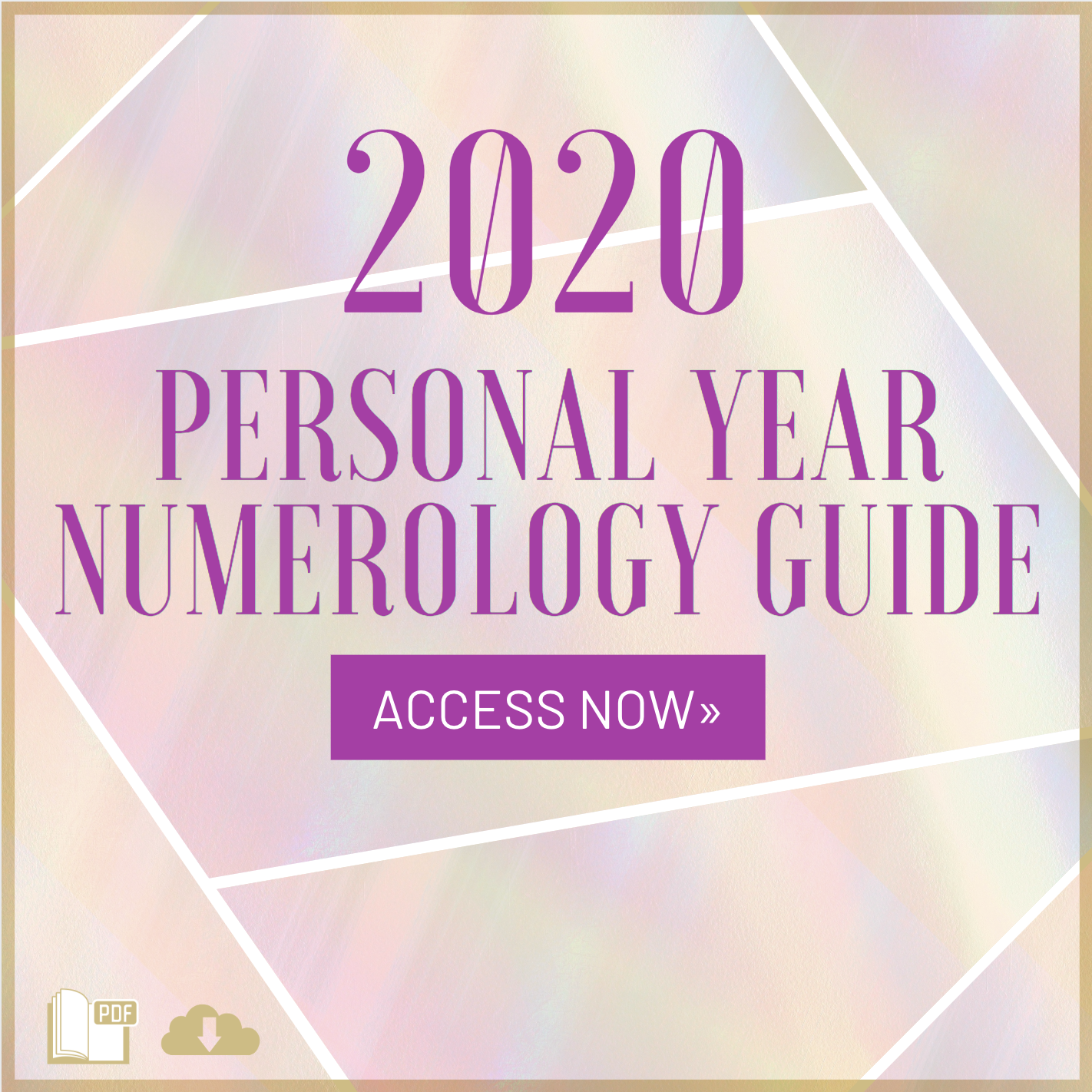 Flow through 2020 with ease using my FREE 2020 Personal Year Numerology Guide! Download it instantly and start preparing for what is going to be a life-changing year! | Kari Samuels #karisamuels #numerology #2020 #newyear #numerologyguide #personalyearnumerology