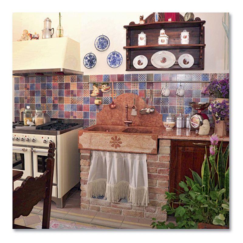 mosaico cucina kerav - Cerca con Google | Kitchen Mosaic ...