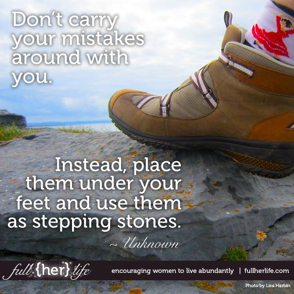 Stepping towards more inspiration... www.fullherlife.com