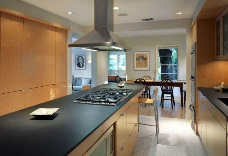 Cocina de granito negro - 69 fotos inspiradoras de espacios