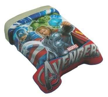 Marvel Avengers Twin Plush Super Soft Blanket by Prodencia. $44.99