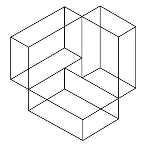 Ilusión Óptica 40 Dibujo para colorear | PATTERN eVeryWHEre ...
