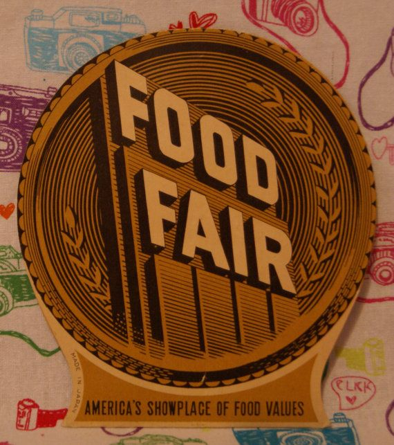Food Fair Needle book    Food Fair was a grocery store that began in Harrisburg, Pennsylvania in the late 1920s and operated until 2000. This