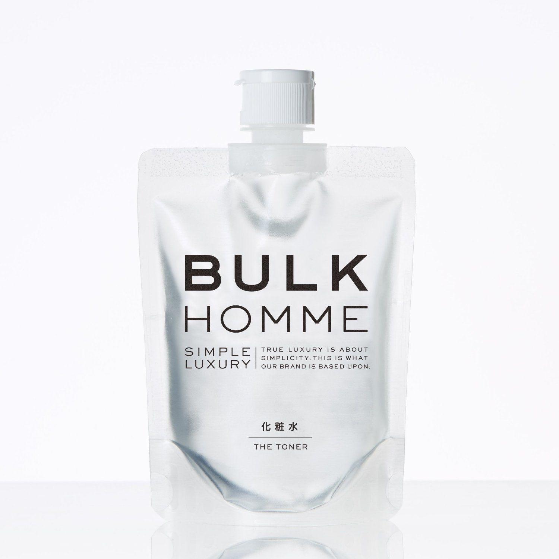 Amazon Co Jp Bulk Homme The Toner 化粧水 200ml ヘルス ビューティー 男性 化粧品 パッケージデザイン 化粧水