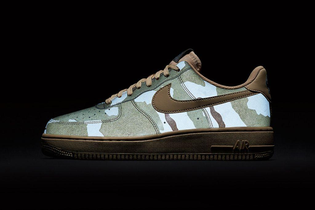 Nike Air Force 1 Reflective Desert Camo Desert Camo Nike Air