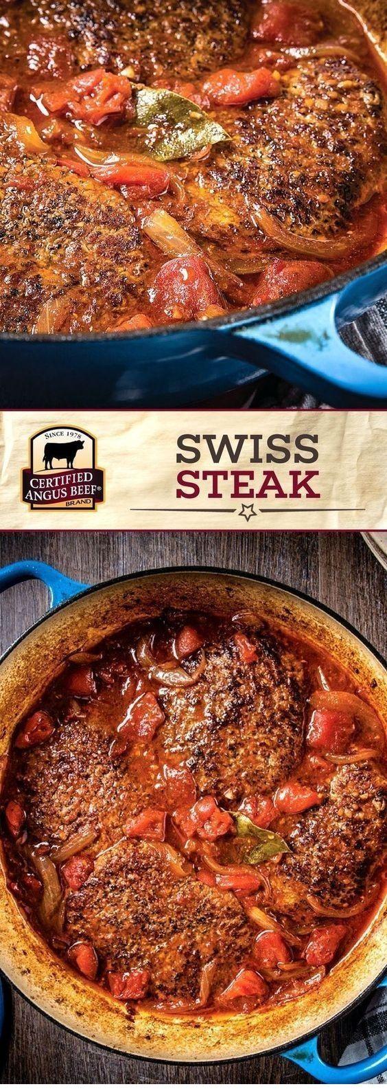 Swiss Steak  #grilledsteakmarinades