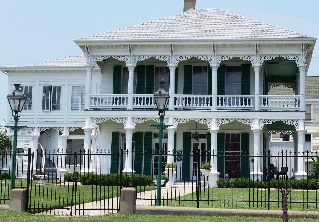 East End Historic District Galveston, Mansions