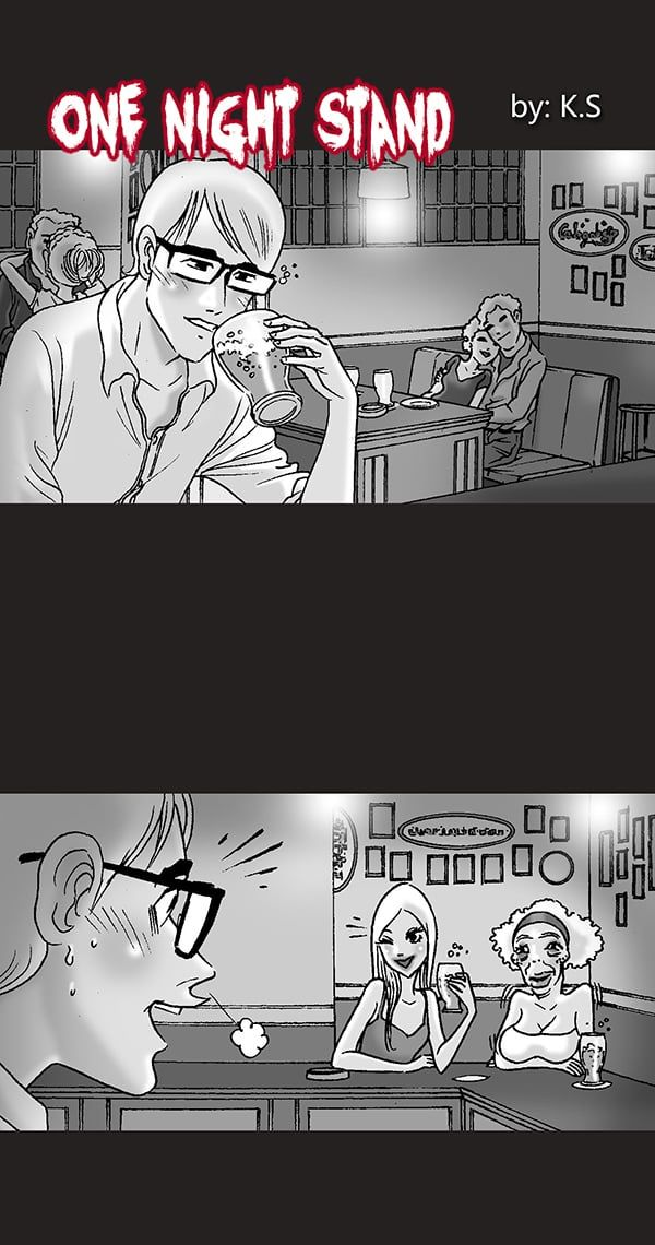 Silent Horror One Night Stand Tapastic Comics Image 1 Silent Horror Silent Horror